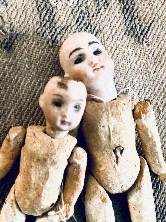 Antique Dolls, porcelain head,