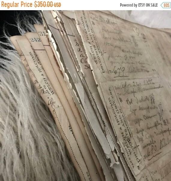 Antique Prescriptions, 20 Old writings, fountain pen, Ledger of prescriptions