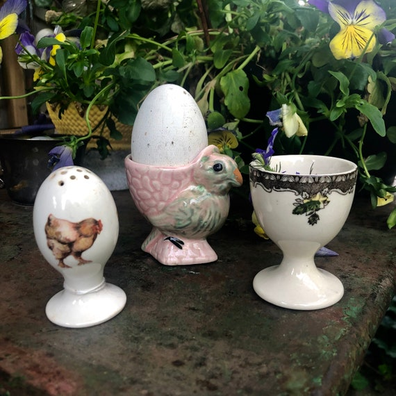 Antique Egg Cups, Antique