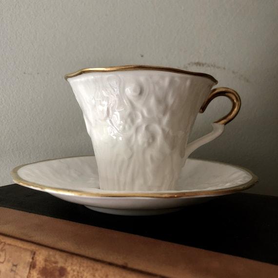 Old English Oak tea cup, Stafford finest bone china.