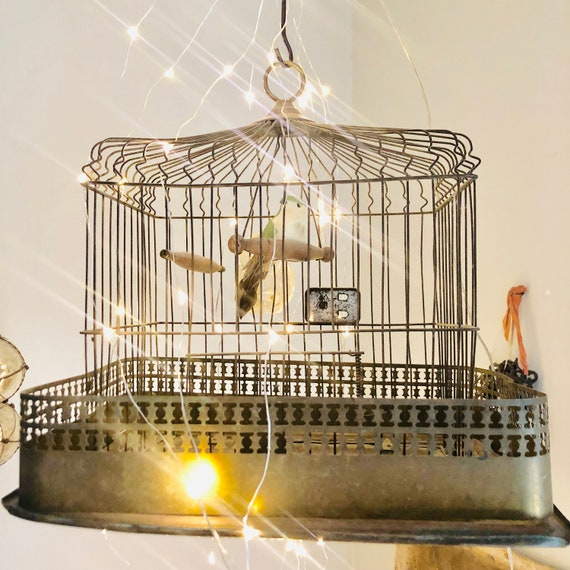 Antique Bird Cage,French  Decor