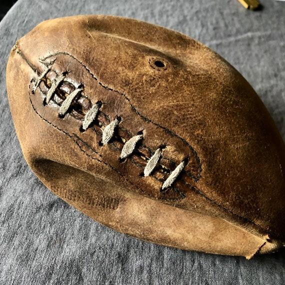Vintage Football, Antique football,industrial, Industrial decor