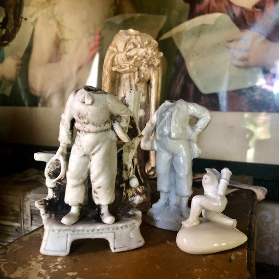 Antique statues,French,Religious,aquarium statuary, statuary
