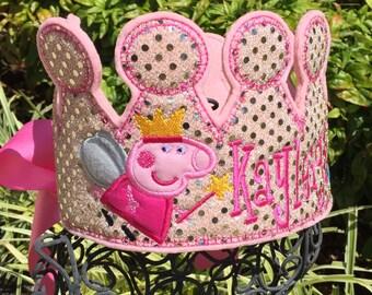 Girls Birthday Crown