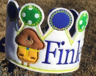 Boys Birthday Crown, Hey Duggee Birthday, Duggee Hat, Hey Duggee Party Hat