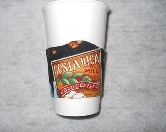 Coffee Sleeve - reversable