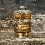Bezoar Apothecary Jar, Universal Poison Antedote, Witchy Prop or Decoration