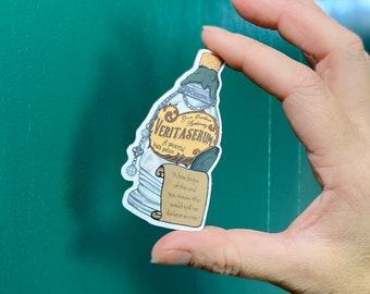 Veritaserum Potion Clear Sticker