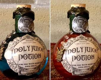 Polyjuice Potion, A Color Change Decorative Harry Potter Potion Bottle.
