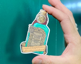 Polyjuice Potion Clear Sticker