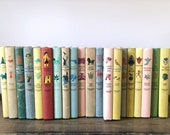 Vintage childrens book | Junior Deluxe Editions | colorful books