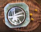 Vintage studio pottery bowl | ceramic dish