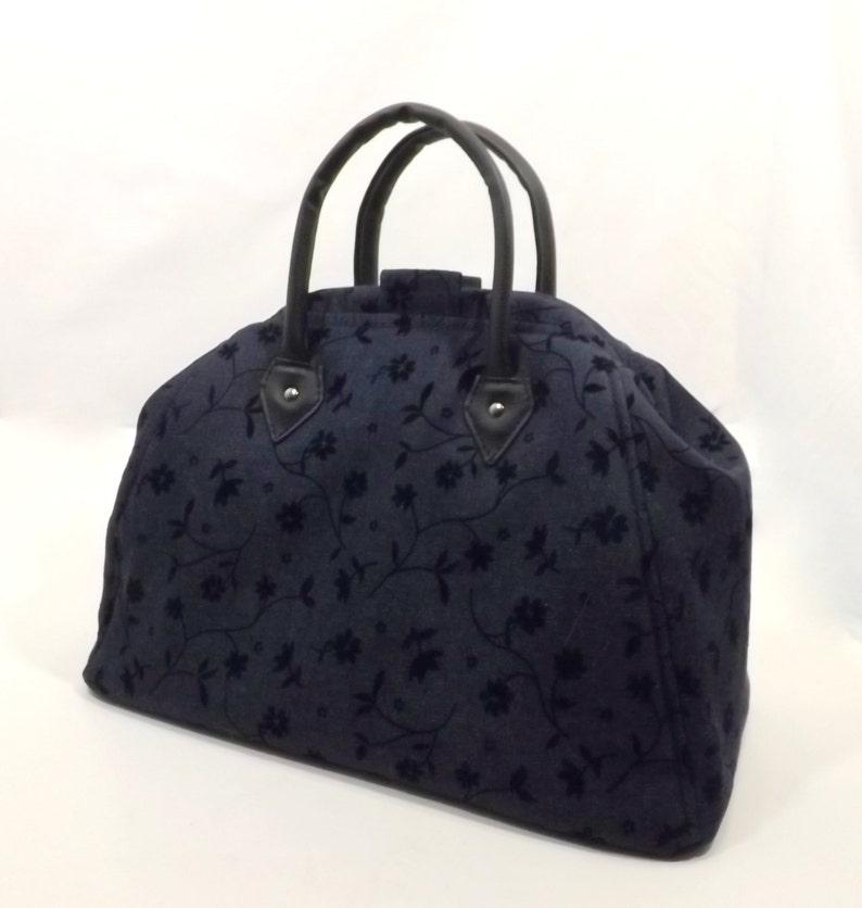 5727d133f4 Mary Poppins stile tappeto della Borsa / Travel Bag / | Etsy