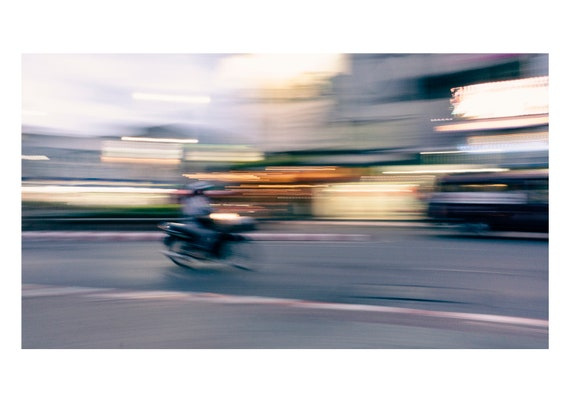 Motorcycle, Chiang Mai, Thailand  | Fine art photography | Color print