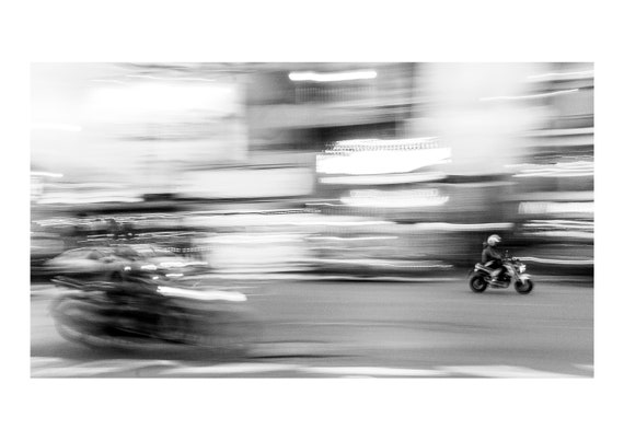 Motorcycle 2, Chiang Mai, Thailand  | Fine art photography | Color print