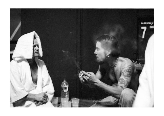 Flea and Dave | Red Hot Chili Peppers - Fine art photography | Black and White print | Collectible