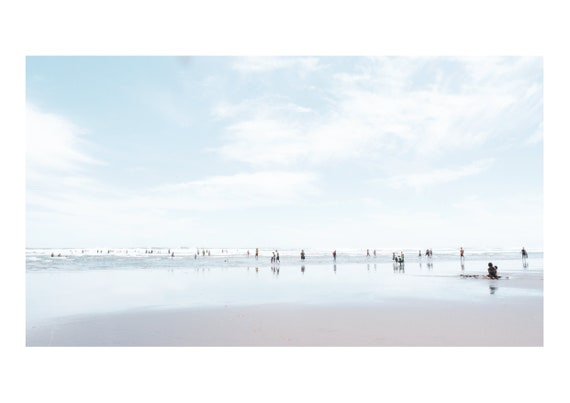 Piha Beach, New Zealand - Low tide | Fine art photography | Color print