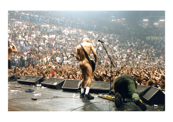 Flea | Red Hot Chili Peppers - Fine art photography | Color print