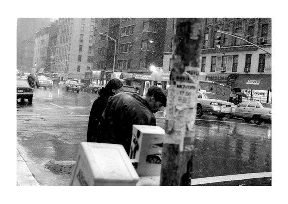 Snow storm | New York City | 1994