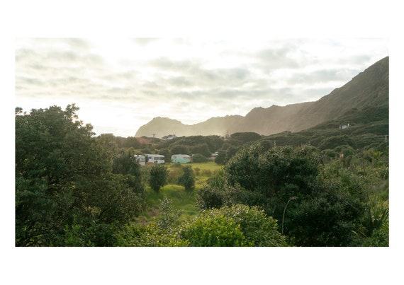 Caravans | Piha | New Zealand | Fine art photography | Color print