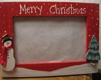 Christmas Frame Etsy