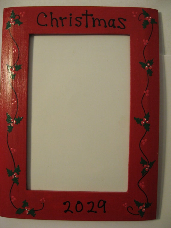 Christmas frame 2020 family memories holiday grandparents photo picture frame