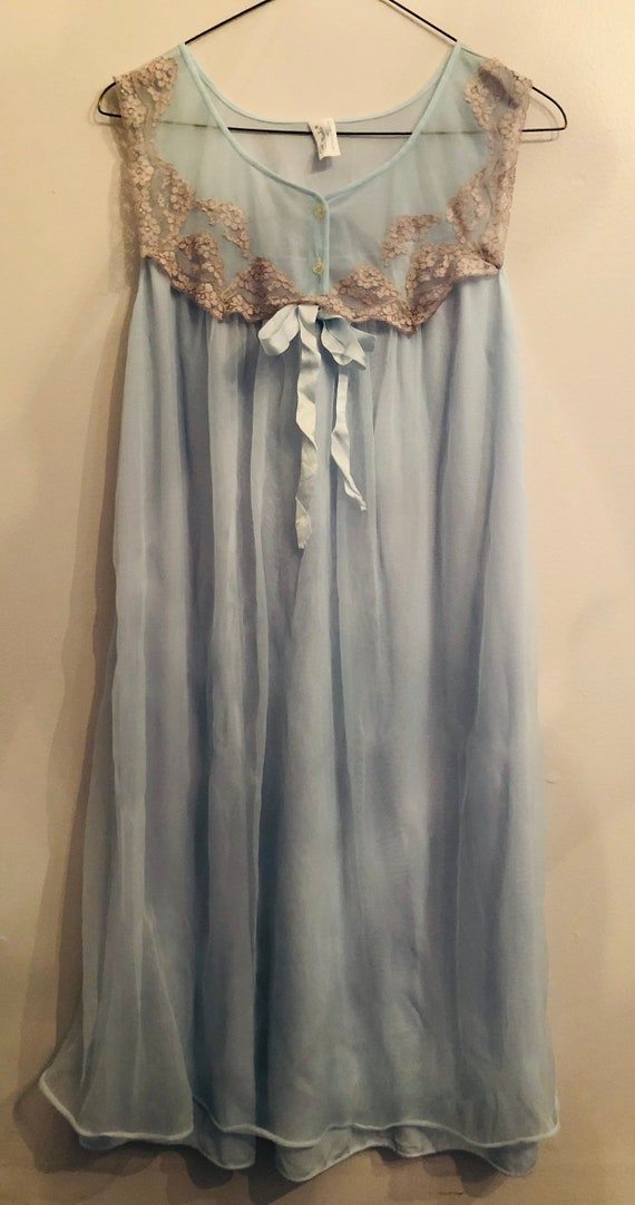 Vintage Val Mode Lingerie Babydoll