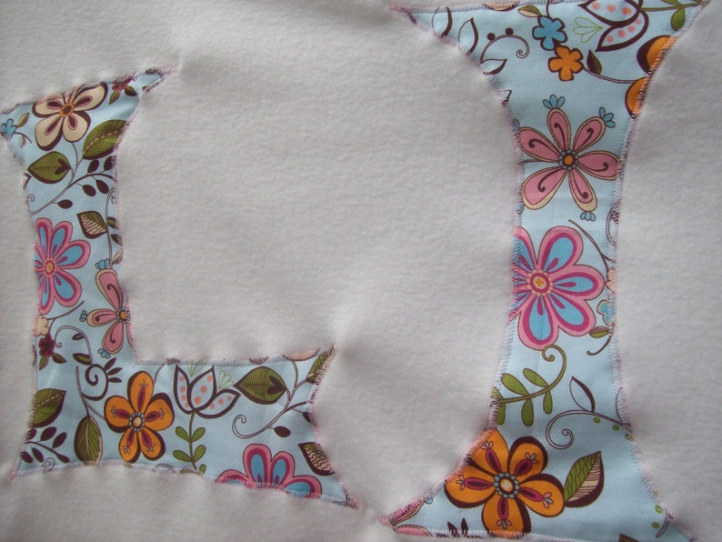 Large Soft Fleece Monnagrammed Pet Blankets Small