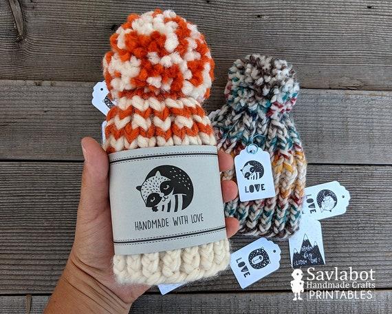 3119f298206 Printable gift tags knitting gifts crochet gift tags
