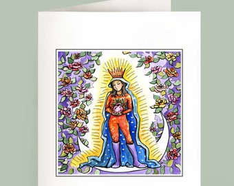 Heart of Mary - Set of 6 Note Cards