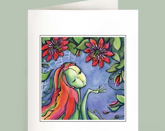 Passion Flurry - Set of 6 Note Cards