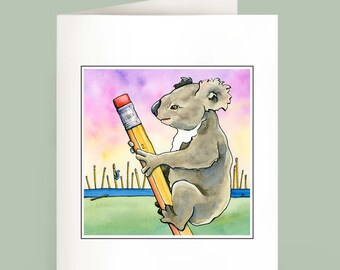 Koala Forest - Set of 6 Note Cards