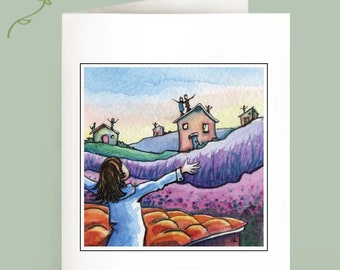 From Rooftops - Set of 6 Note Cards