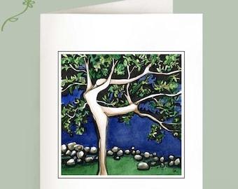 Dancing Tree - Set of 6 Notecards