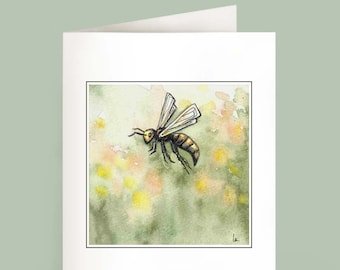 Just Bee - Set of 6 Note Cards
