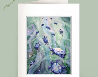 Dream of the Blue Turtles - Set of 6 Notecards