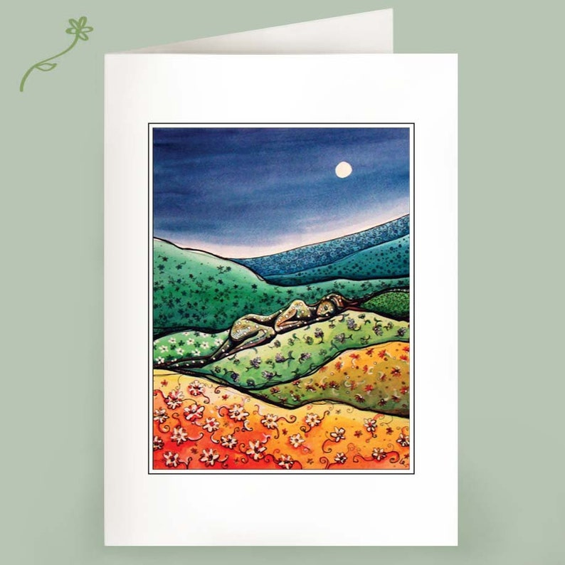 Calico Hills  Recycled cards  Set of Six image 1