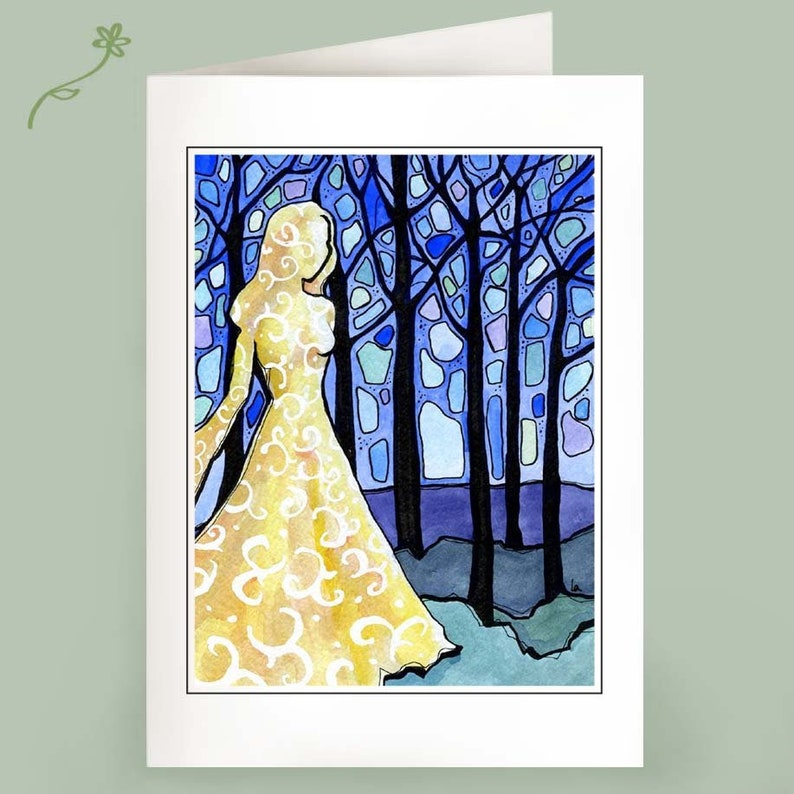 Dream of the Forest  Set of 6 Notecards image 0