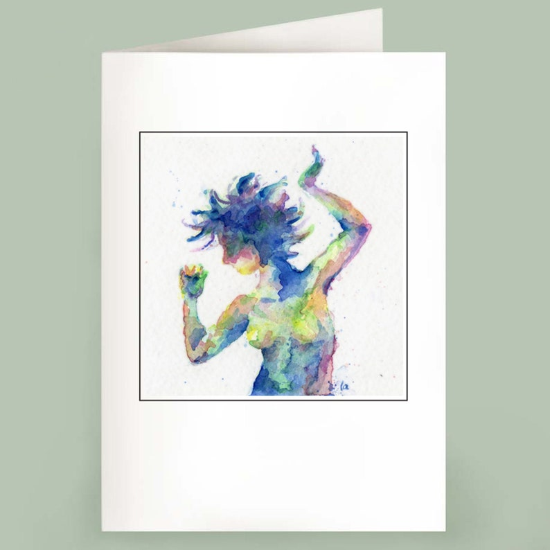 The Dancer  Set of 6 Note Cards image 0