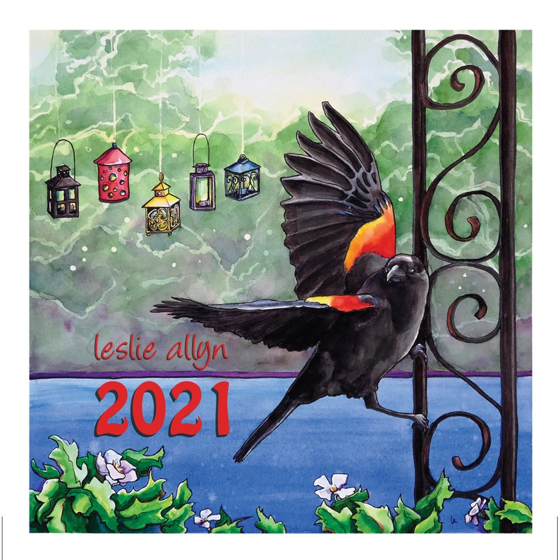 2021 Small Calendar with Quotes image 0