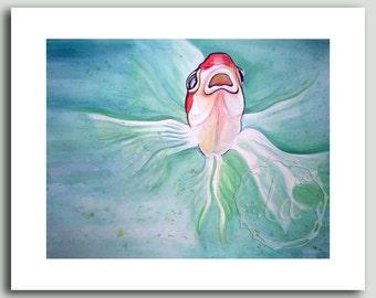 Herb - goldfish print