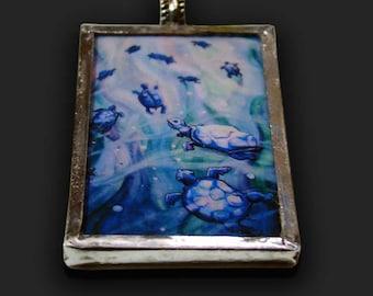 Dream of the Blue Turtles - Pendant