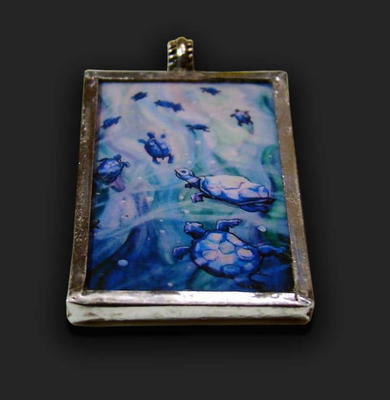 Dream of the Blue Turtles  Pendant image 0