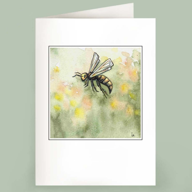 Just Bee  Set of 6 Note Cards image 0
