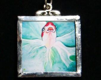 Herb - Pendant - goldfish