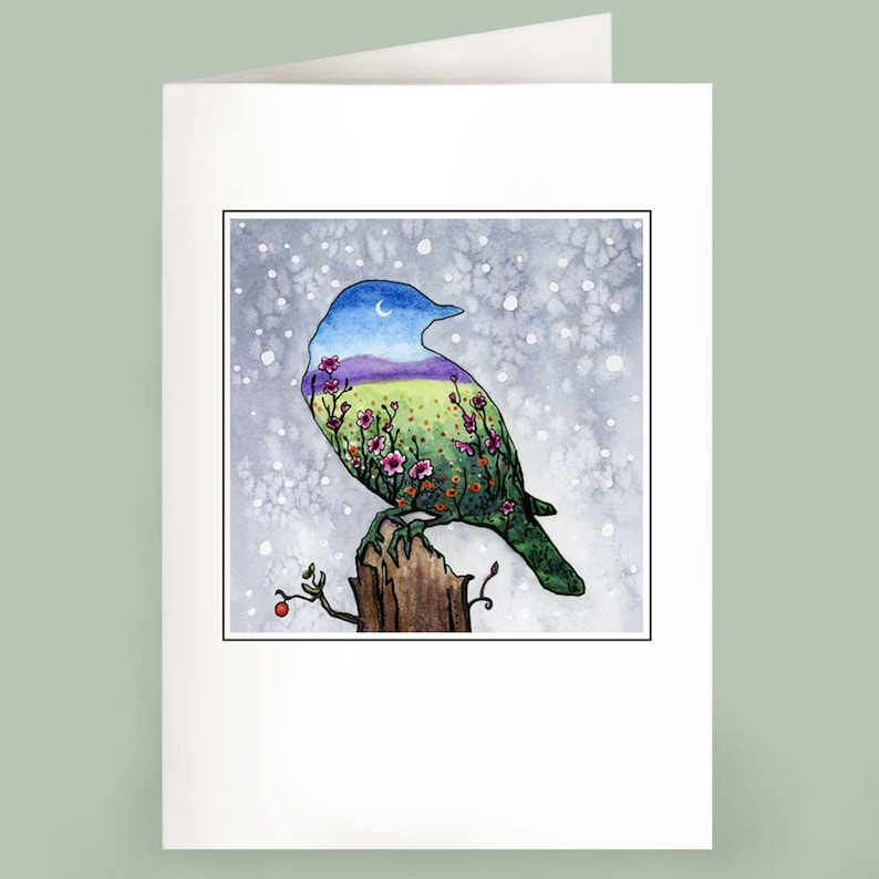 Bluebird  Set of 6 Note Cards image 0