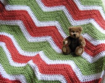 Neue Chevron Zick Zack Baby Decke Afghanischen Wickeln Schal Etsy