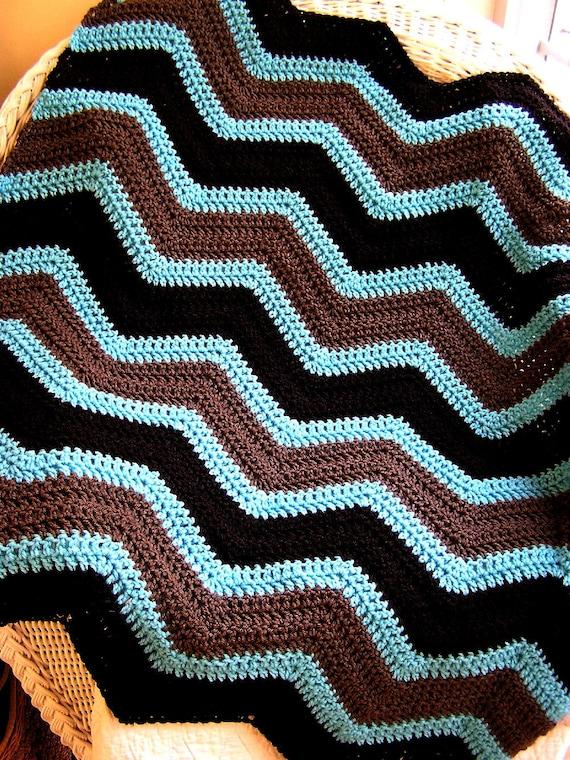 Neue Chevron Zick Zack Baby Decke Häkeln Stricken Afghanischen Etsy