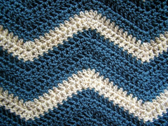 neue Chevron Zick Zack Baby Decke afghanische wickeln häkeln | Etsy