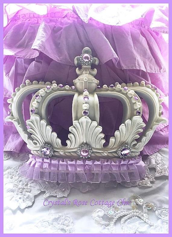 Lilac Light Purple Lavender Bed Crown Canopy Color Options